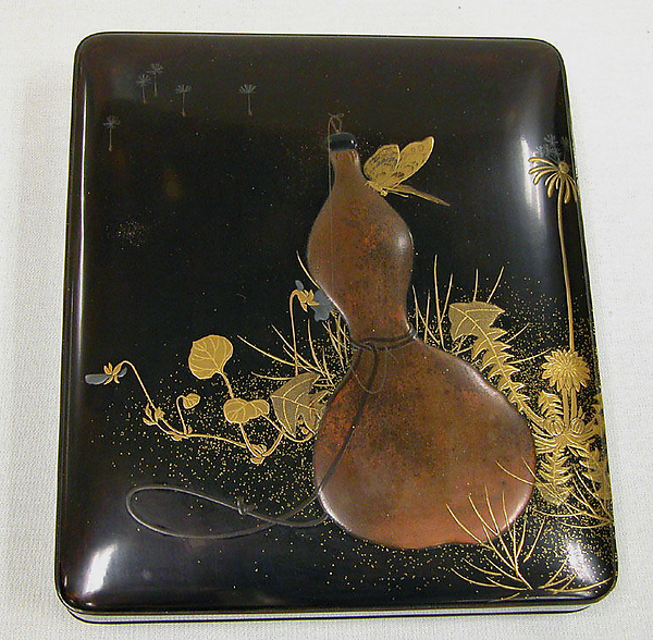 Writing Box with Design of Gourd and Butterfly