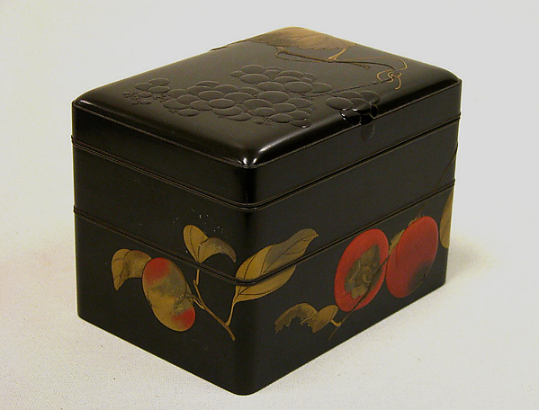 果蔬蒔絵菓子箱