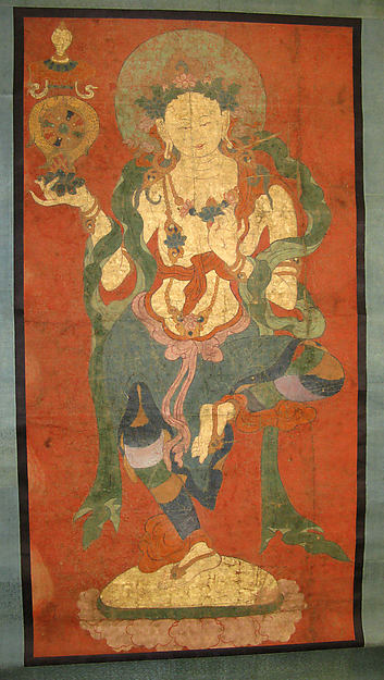 Buddhist Attendant, Possibly a Dakini