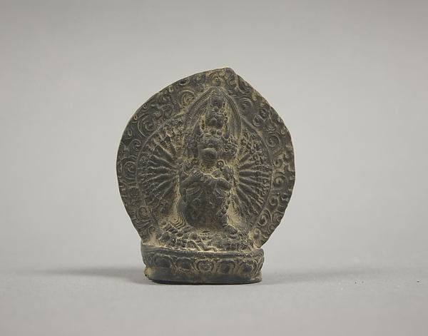Votive Plaque with Yamantaka