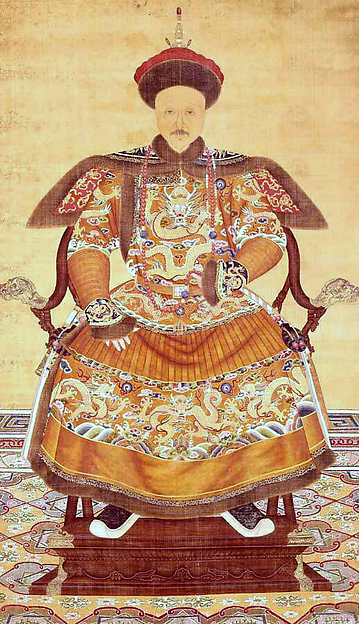 Portrait of Yongzheng Emperor (1723–1735)