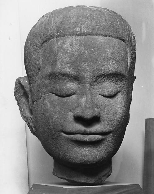 Head of Buddha or Bodhisattva
