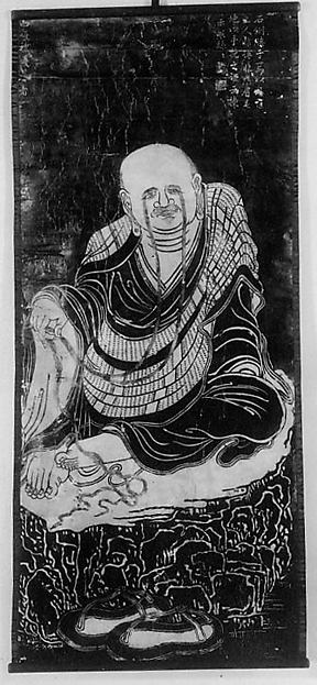 Rubbing of a Qing Dynasty Luohan
