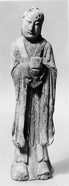 Statuette of Buddhist Disciple