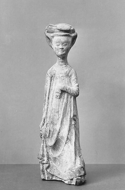 Standing Female Attendant