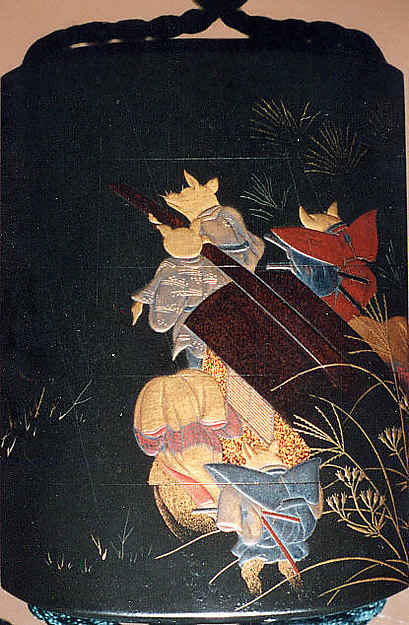 Case (Inrō) with Fox Wedding Procession