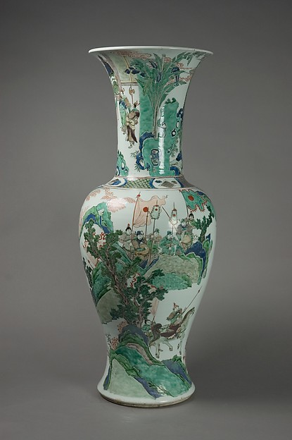 Vase with Scenes of Historical Warriors