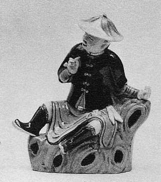 Figure of Seated Gentleman