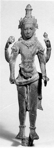 Standing Deity (Vishnu?)