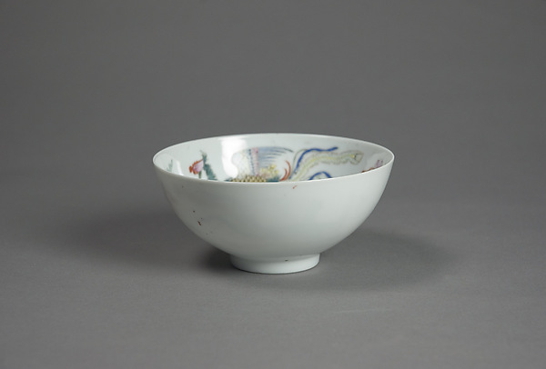 Bowl with Phoenixes and Flowers