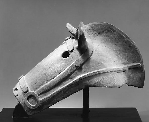 Haniwa Horse's Head