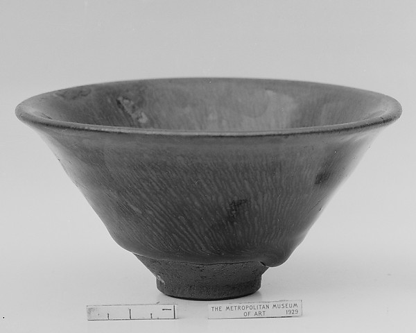 "Tea Bowl with ""Hare's-Fur"" Decoration"