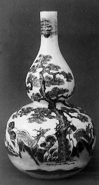 Gourd-Shaped Bottle