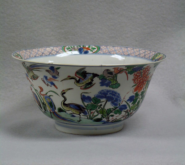 Bowl with geese