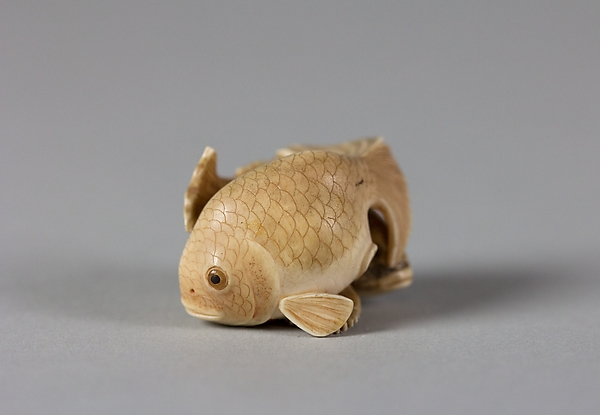 Netsuke of Two Fish