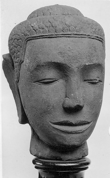 Head of a Buddha