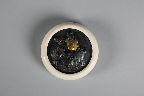 Netsuke of Three Boon Companions