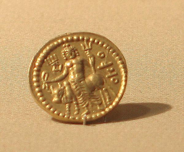 Coin of  Vasudeva