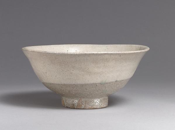 분청사기 덤벙 분장 완 조선  <br/>粉靑沙器粉粧碗 朝鮮 <br/>Bowl