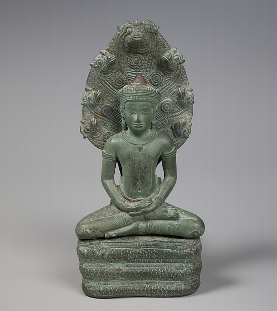 Buddha Sheltered by a Naga