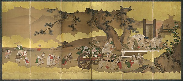 Seven Gods of Good Fortune and Chinese Children