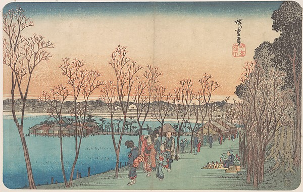 江戸名所 上野不忍の池<br/>Ueno, Shinobazu no Ike