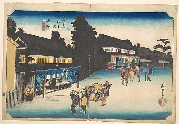 Fascinating Historical Picture of Utagawa Hiroshige in 1734