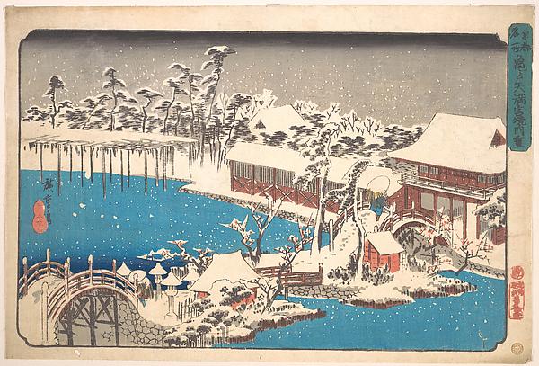 Kameido Tenmangu Keidai no Yuki