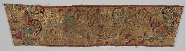 Textile Border with Gods and Demons