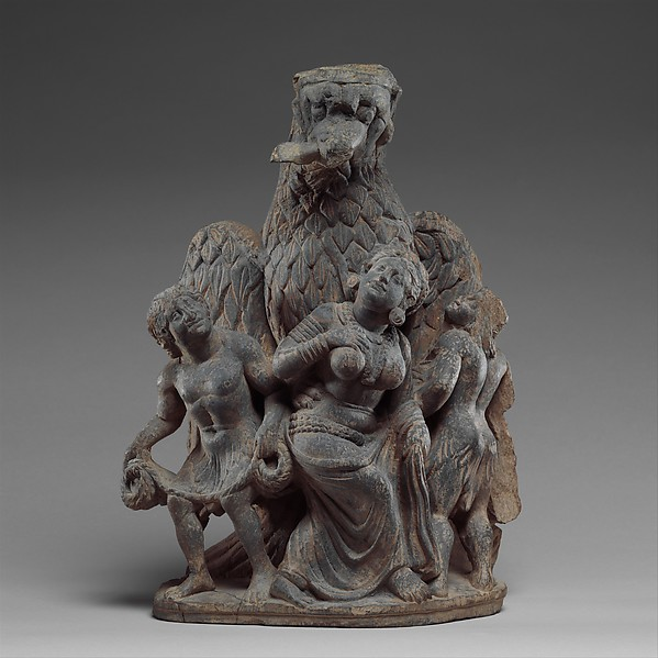 Garuda Vanquishing the Naga Clan