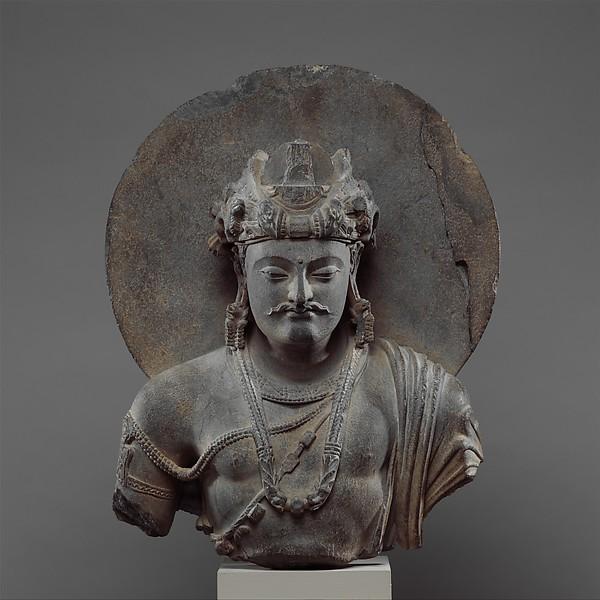 Bust of a Bodhisattva Shakyamuni