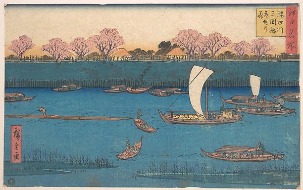 Sumidagawa Mimeguri Hana Zakari no Kei