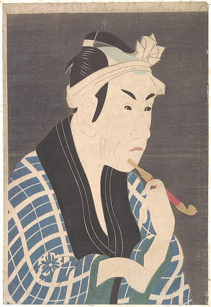 Matsumoto Koshiro IV as the Fish Peddler Gorobei