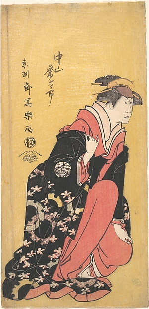 The Actor Nakayama Kumetaro II