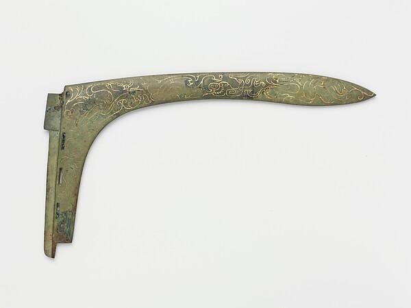 Dagger-axe blade (ge)