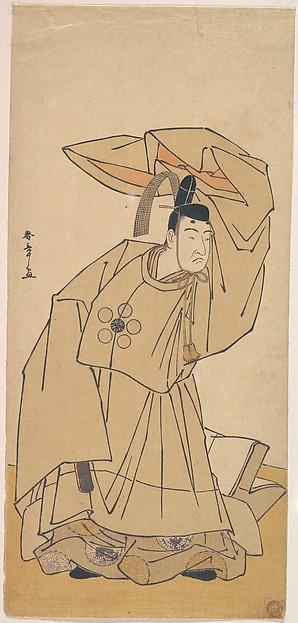 The First Nakamura Nakazo in the Role of Kanshojo