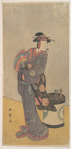 The Fourth Iwai Hanshiro as an Onnadate (Woman Kyokaku)