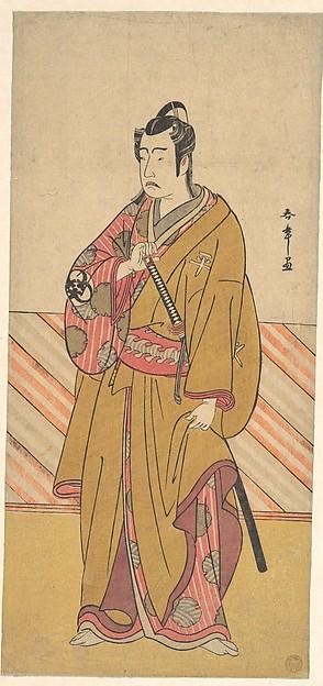 The Actor Bando Mitsugorō I as one of the Conen Otoko or Five Kyokaku