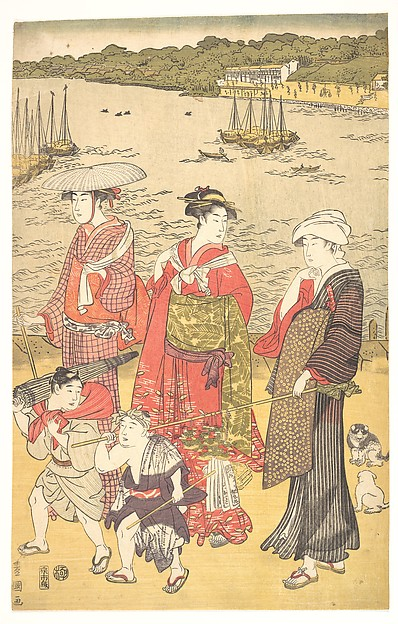 Women at Takanawa Beach