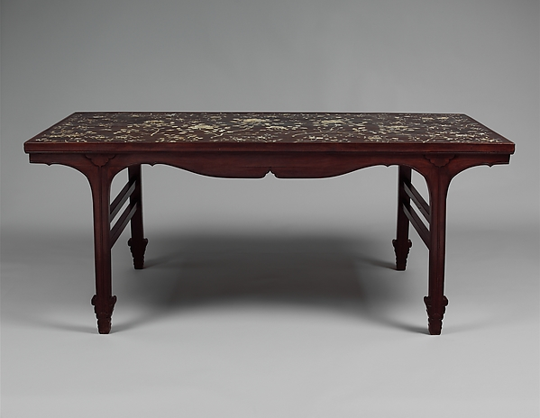 Table with Flowering Sprays