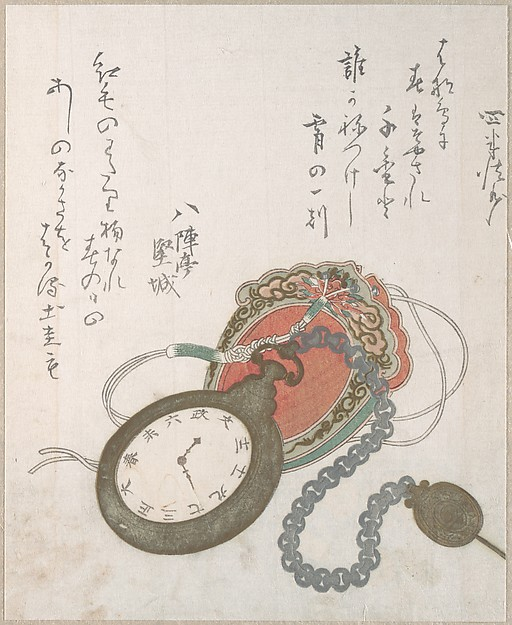 Western Pocket Watch