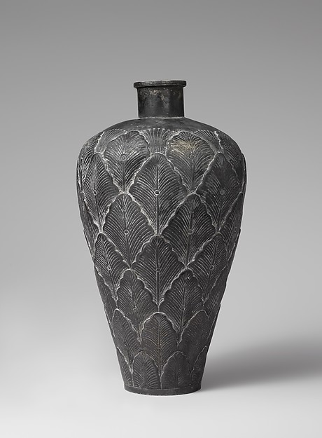 Bottle with Overlapping Petals