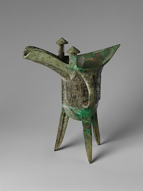 Ritual Wine Vessel (Jue)