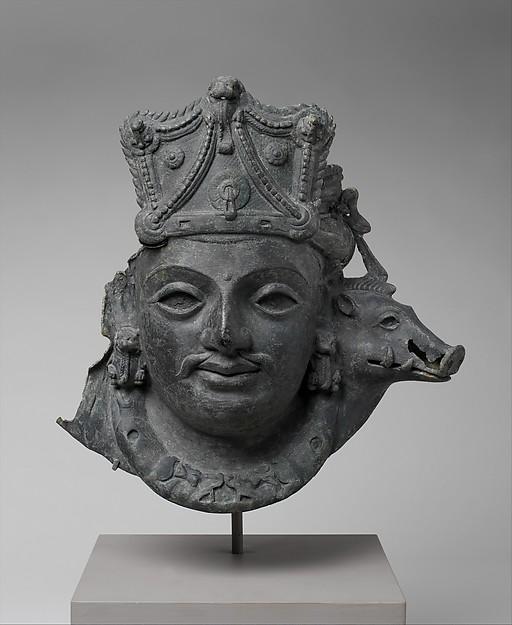 Mask of Vaikuntha Vishnu