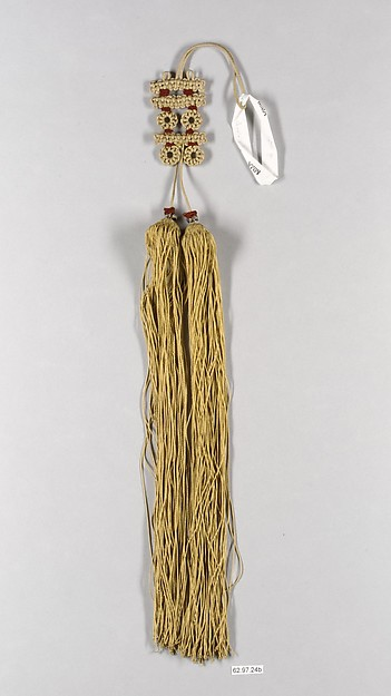 Interknotted Ornament with Tassels