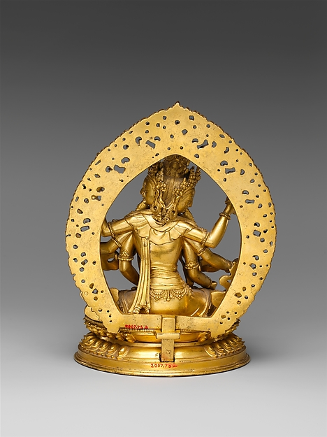尊勝佛母<br/>Buddhist Deity, Ushnishavijaya (Zun Sheng fo mu)