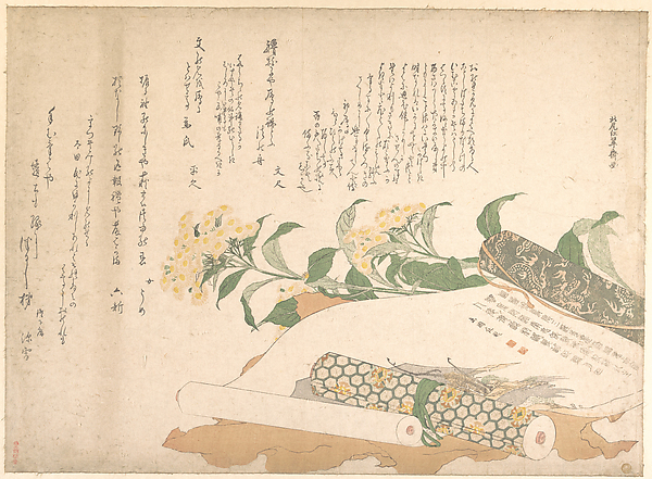 Daisies and Two Makimono