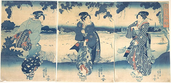 Women Near a River
