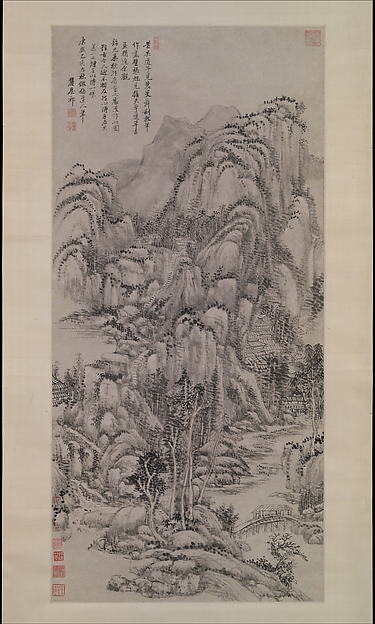 Landscape after Wu Zhen