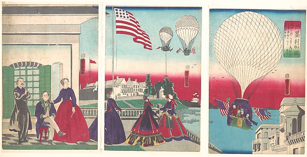 亜米利加国<br/>American Balloon Ascension (Amerikakoku)
